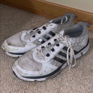 White Adidas Running Shoes